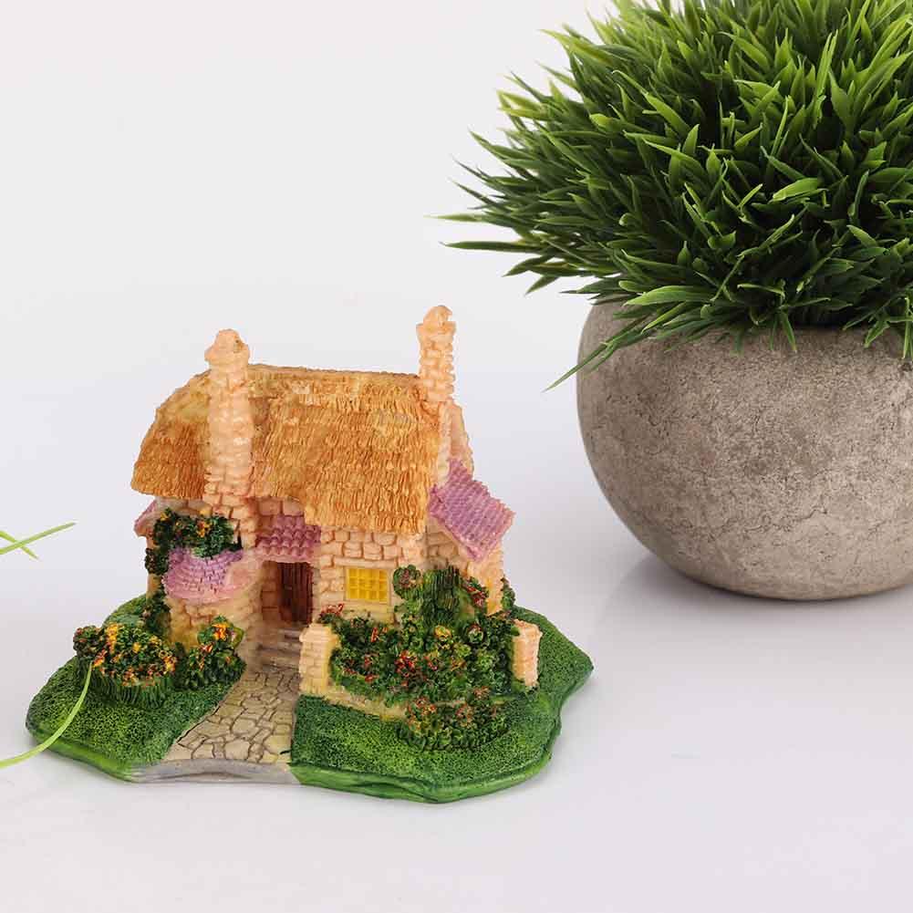 Stsatuette For Outdoor Ponds: Outdoor Fancy Fairy Garden Ornament Figurine Model Resin