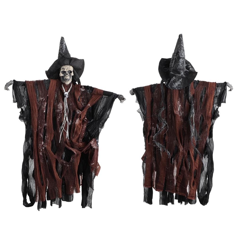 Scary Skeleton Halloween Hanging Decoration Haunted House