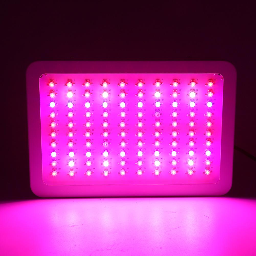 1000w voll spektrum led grow light pflanzen lampe wachsen licht f r blume gem se ebay. Black Bedroom Furniture Sets. Home Design Ideas