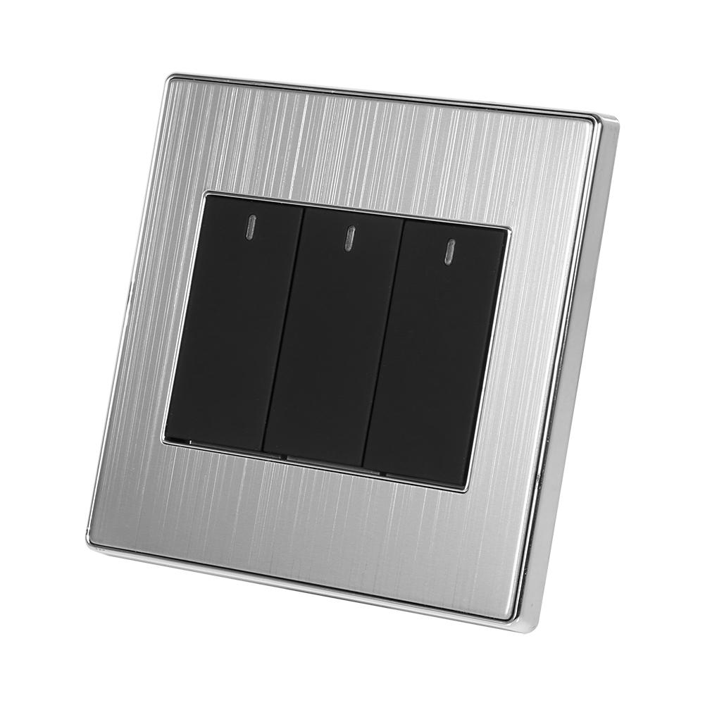 250v 10a hause wandschalter touch led lichtschalter touchscreen smart home ebay. Black Bedroom Furniture Sets. Home Design Ideas