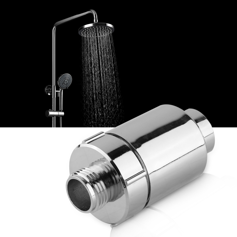 Bathroom-Water-Purifier-Softener-Shower-Head-Filter-Chlorine-Heavy-Metal-Remover thumbnail 17