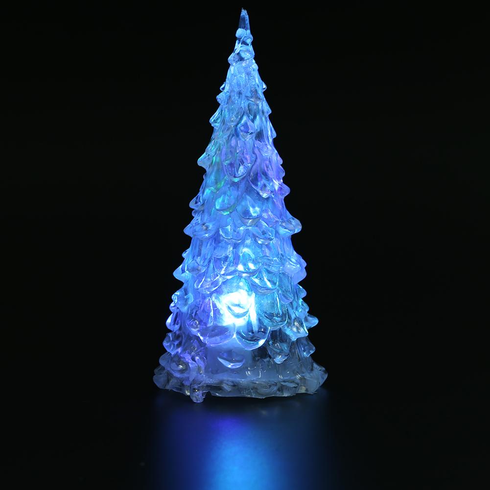 bunt led weihnachtsbaum leuchte nachtlicht beleuchtung fest weihnachten dekor ol ebay. Black Bedroom Furniture Sets. Home Design Ideas