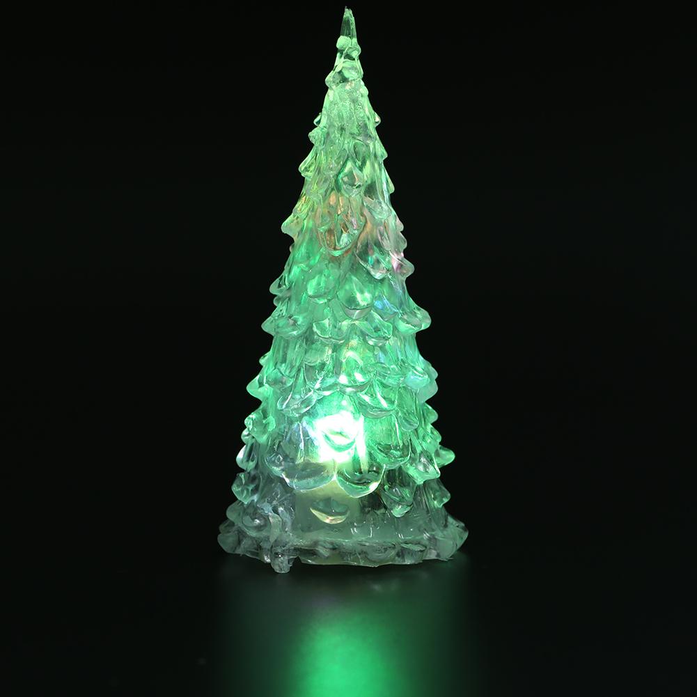 led weihnachtsbaum nachtlampe licht bunte schreibtisch. Black Bedroom Furniture Sets. Home Design Ideas