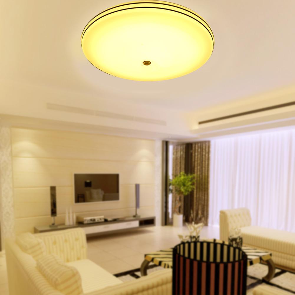 24w runde led eingebettete deckenbeleuchtung deckenlampe. Black Bedroom Furniture Sets. Home Design Ideas