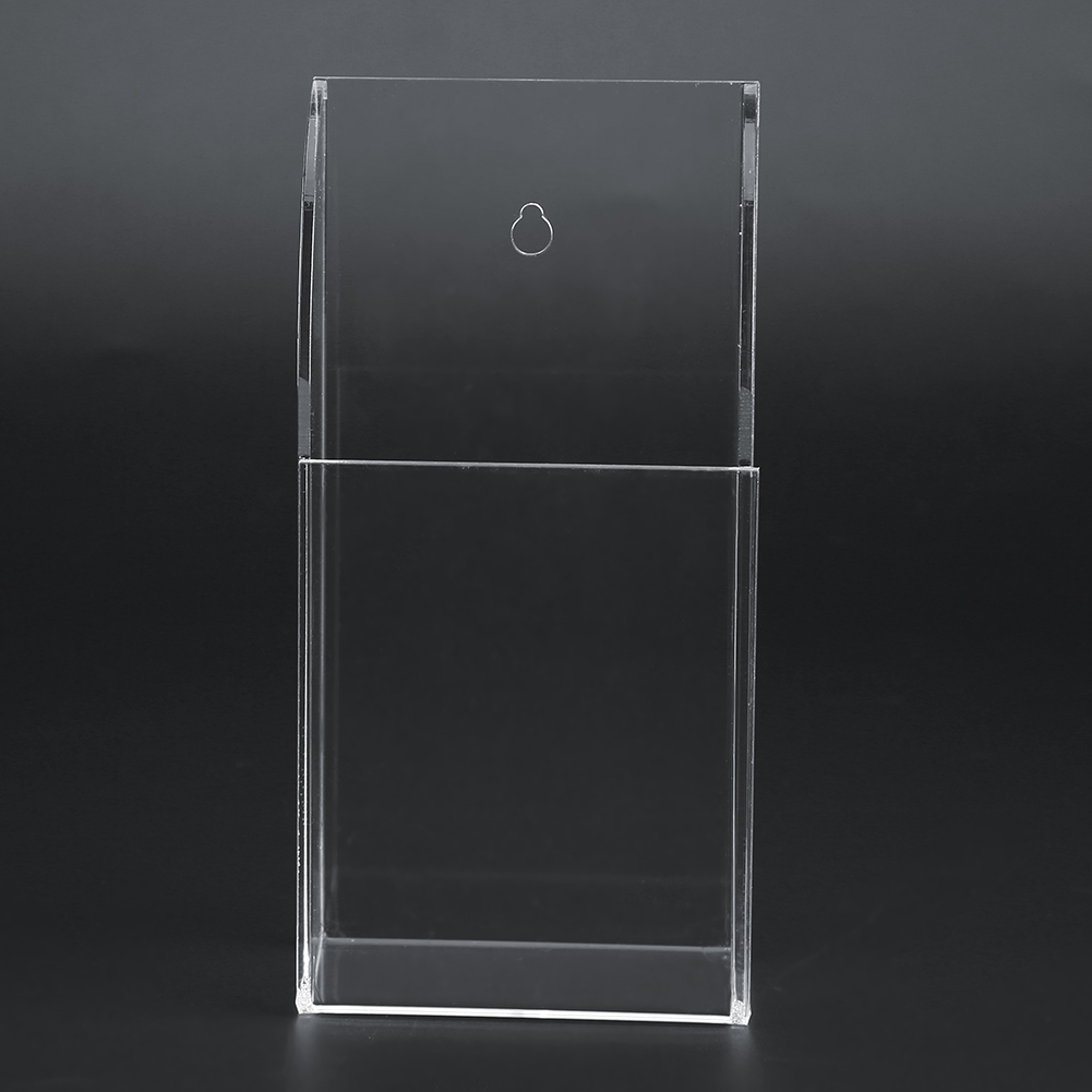 TV-Air-Conditioner-Remote-Control-Holder-Case-Acrylic-Wall-Mount-Storage-Box thumbnail 14