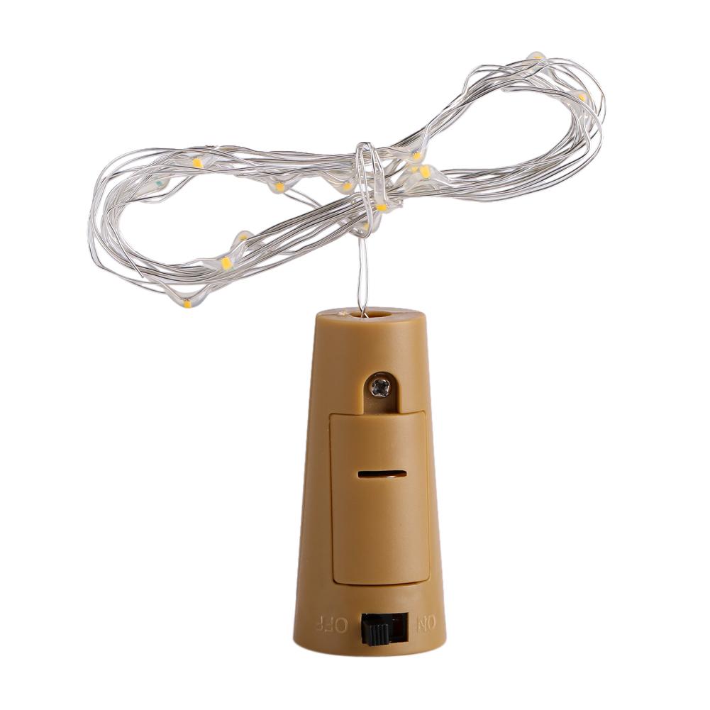 15-LED-Light-Wine-Bottle-Copper-Wire-String-light-bulb-Cork-Festival-Party-Decor thumbnail 15