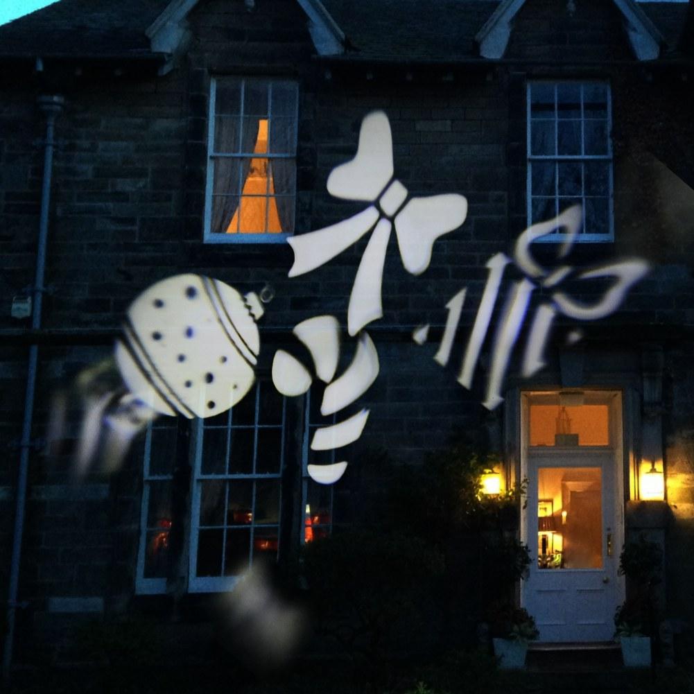 laser projecteur lampe lumi re mobile led flocon de neige no l jardin decor ebay. Black Bedroom Furniture Sets. Home Design Ideas