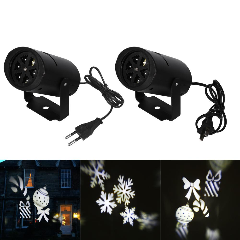 Laser projecteur lampe lumi re mobile led flocon de neige for Laser projecteur