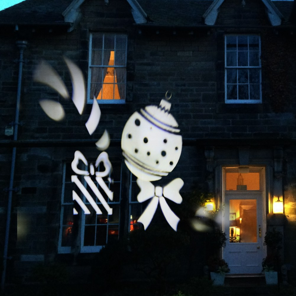 schneeflocke laser led projektor au enlicht beleuchtung gartenlicht weihnachten ebay. Black Bedroom Furniture Sets. Home Design Ideas