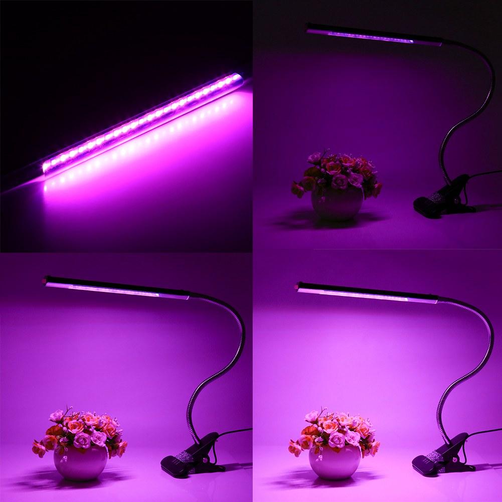 pflanzenlicht led grow schreibtisch lampe pflanze wachsen flexibler gooseneck ebay. Black Bedroom Furniture Sets. Home Design Ideas