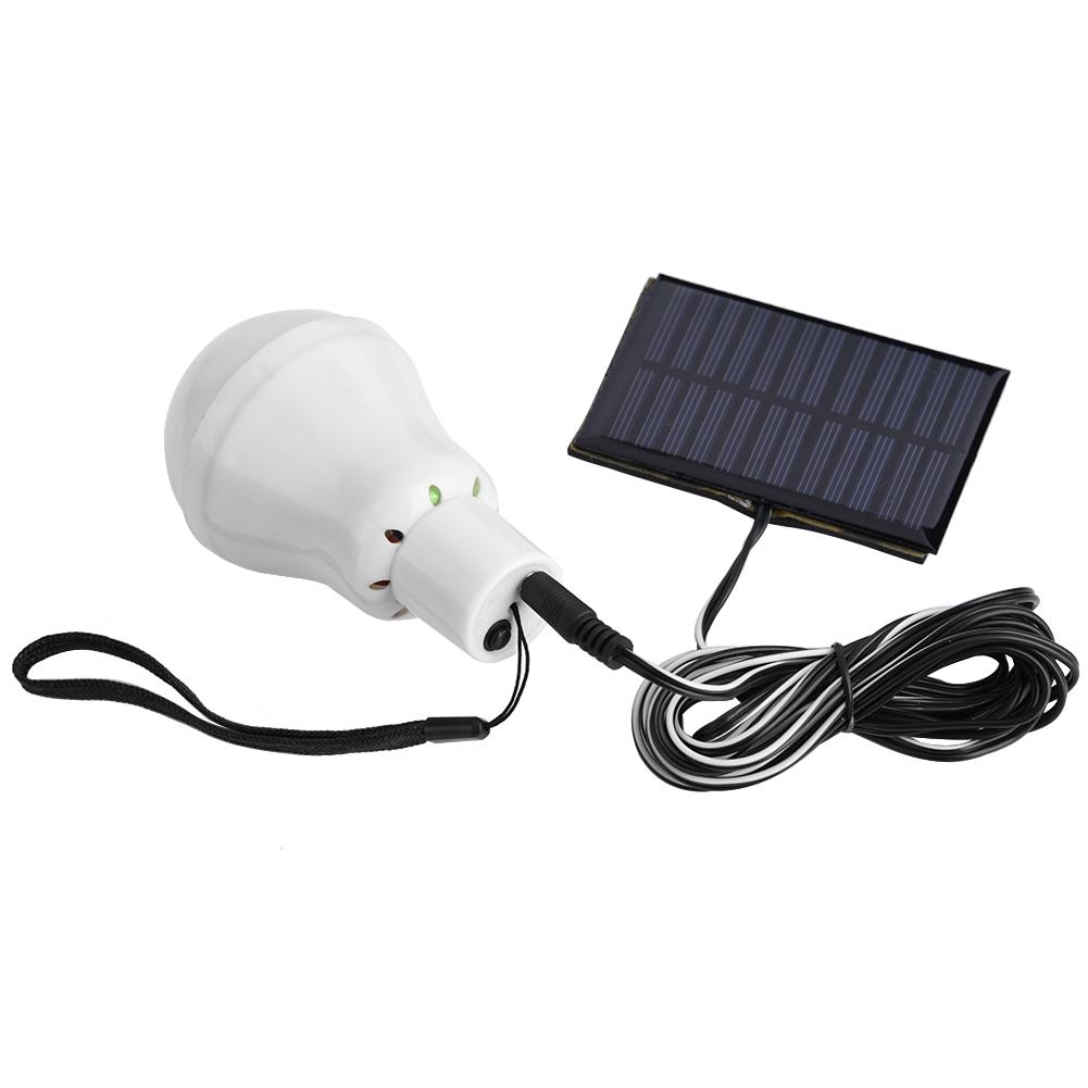 Pannello Solare Portatile Da Campeggio : W luce led lampada solare con pannello ricaricabile