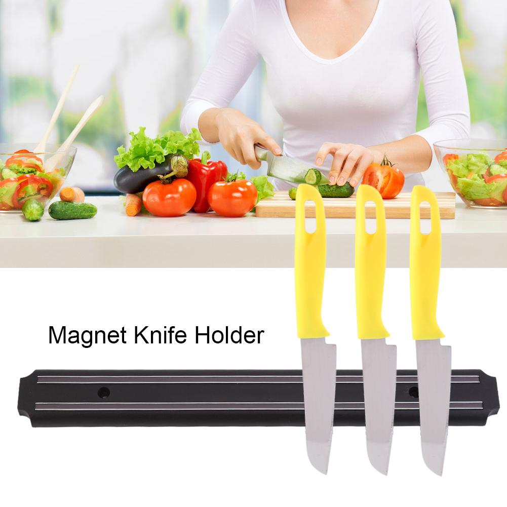 1x-Wandmontage-Magnetischer-Messer-Halter-Magnetleiste-Aufbewahrung-Halterung-gl