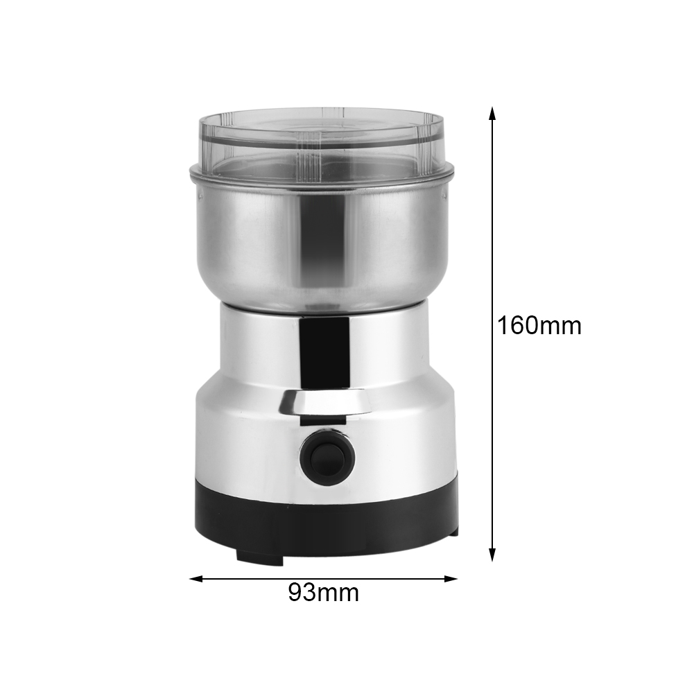 moulin caf lectrique acier inoxydable coffee grinder cafeti re machine 220v eur 13 06. Black Bedroom Furniture Sets. Home Design Ideas