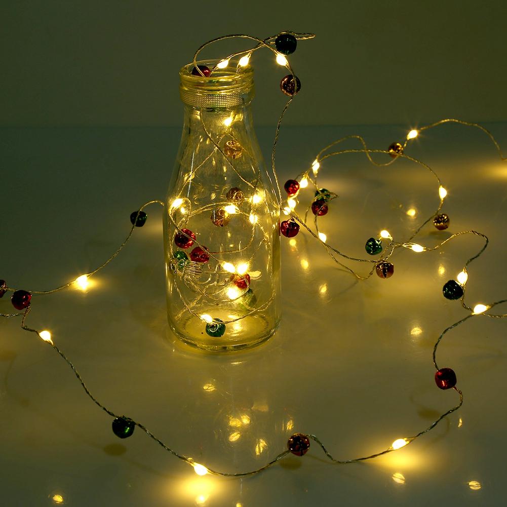 3 Meter 30 LEDs Batterie Kupferdraht Flaschen Schnurlichter ...