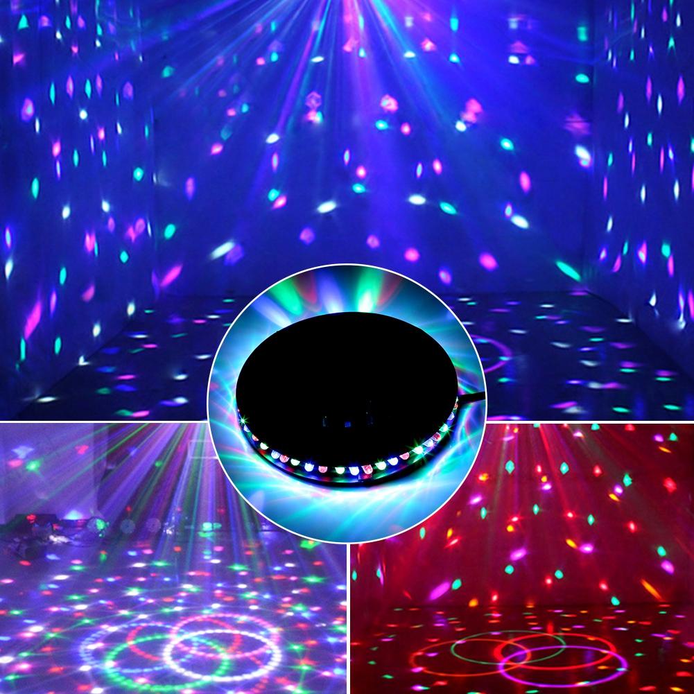 48led rgb lampe effet lumineux auto tournesol clairage de. Black Bedroom Furniture Sets. Home Design Ideas