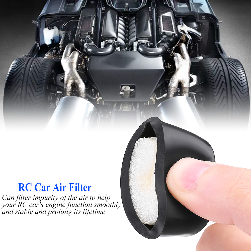 1/10 RC Car Accessories Chain Hook Car Air Filter Body Posts Model ...