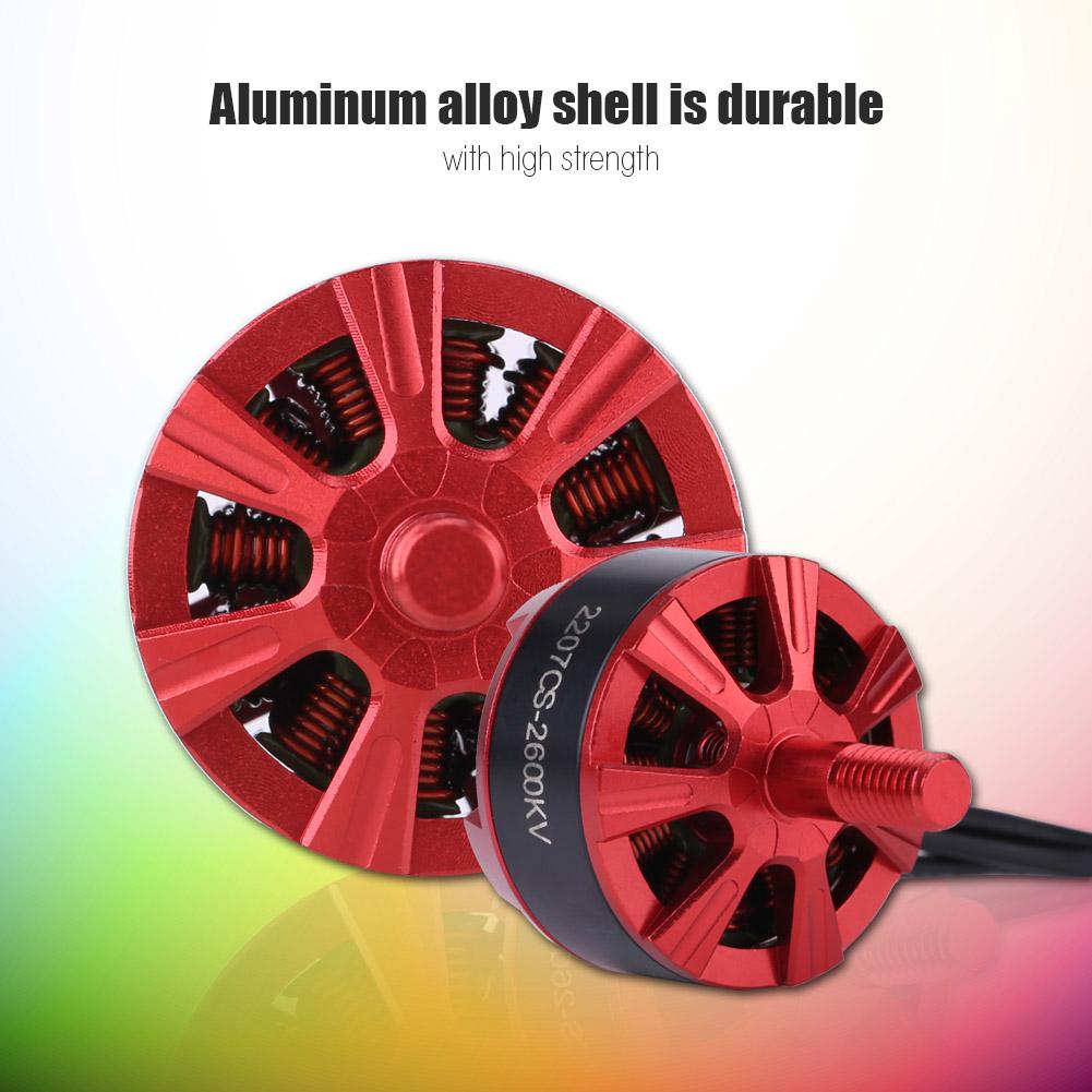 4Pcs Set 2207 06 05CS 05CS 05CS 2600KV Motor for RC Racing Quadcopter Motor Accessory 075081