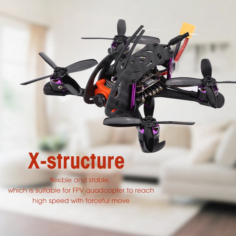 EVERWING-FPV-ESC-Drone-12A-OSD-Carbon-Fiber-600TVL-Camera-Racing-RC-Quadcopter