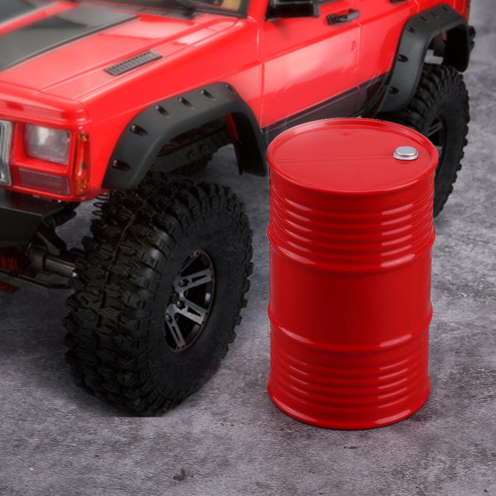 RC-Oil-Drum-Fuel-Drum-Plastic-Oil-Drum-Accessories-for-Rock-Crawler-1-10-Car-my miniature 14