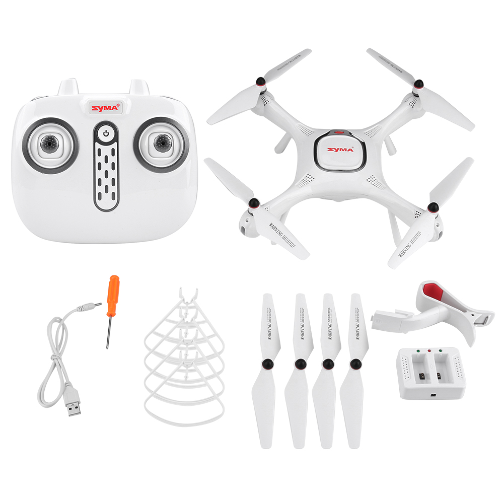 SYMA-720P-HD-Camera-RC-Drone-Quadcopter-GPS-Wifi-FPV-2-4GHz-Remote-Control-Toy