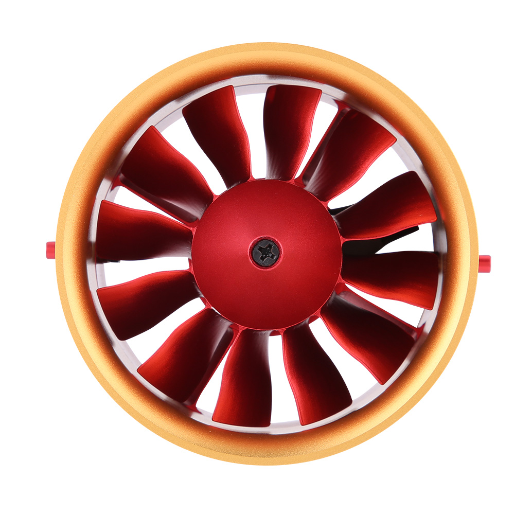 70mm 70mm 70mm Duct Fan Unit with 2150KV Brushless Outcorrerener Motor for RC EDF Jet AirPlane 1460c1