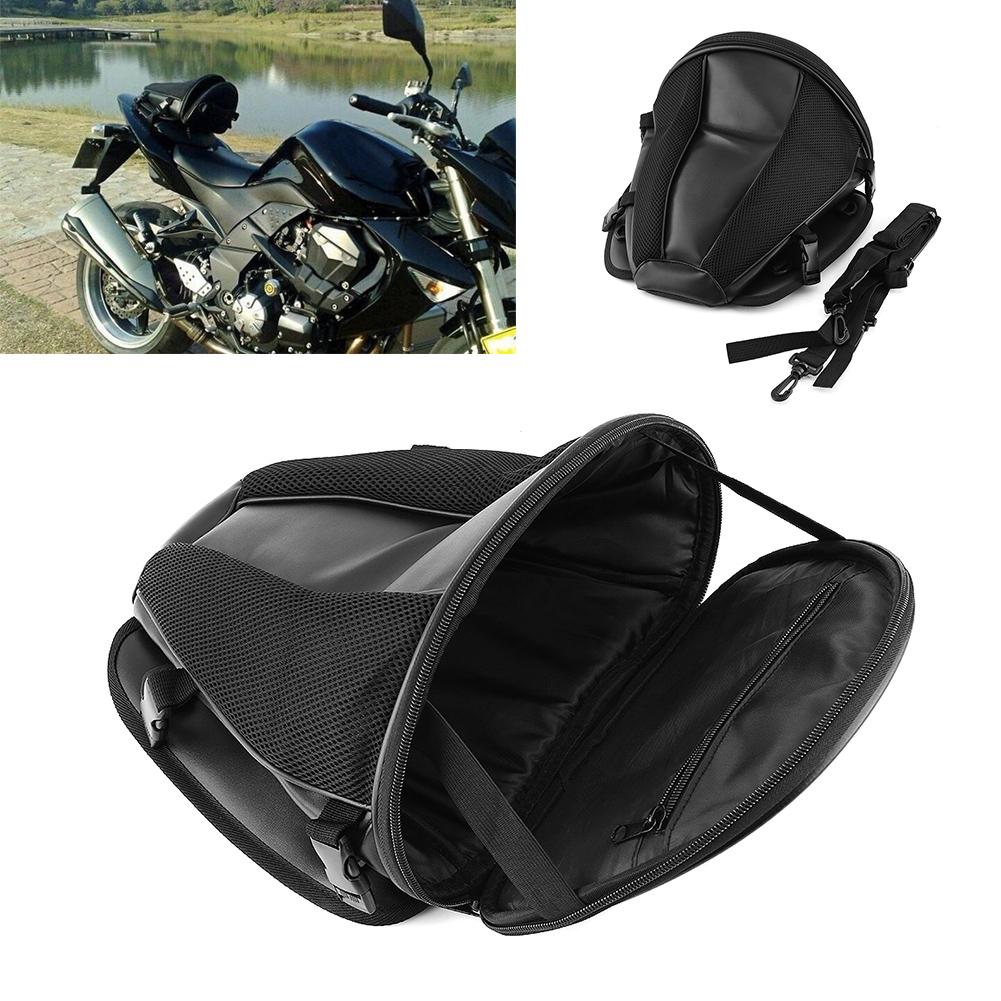 motorrad fahrrad r cksitz tragetasche gep ck schwanz sattel tasche wasserdicht ebay. Black Bedroom Furniture Sets. Home Design Ideas