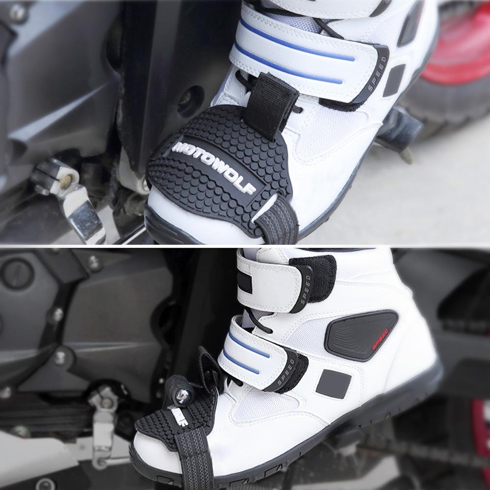 Universal-Cubierta-Protector-Guardia-De-Zapato-Bota-Moto-de-Palanca-De-Cambio-EM