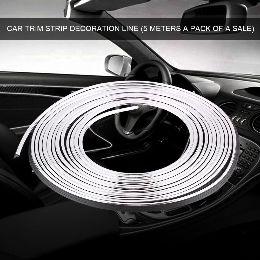 Mlti color coche auto interior flexible recortar decoraci n l nea tira ebay - Decoracion interior coche ...
