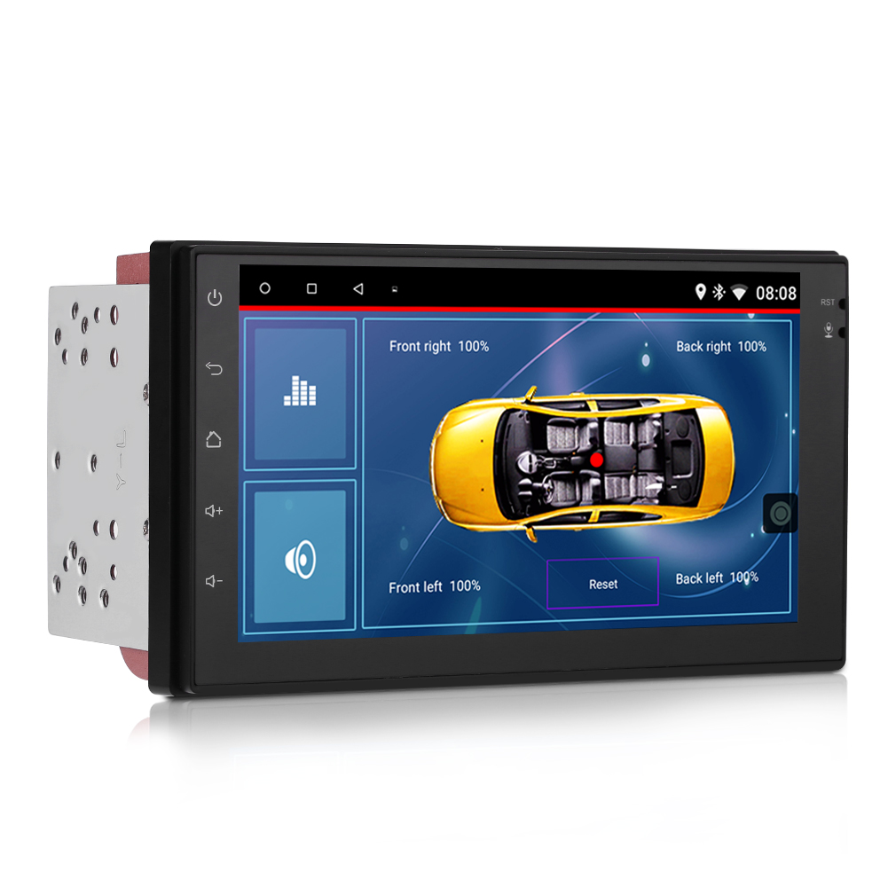 7 cran tactile android voiture autoradio gps navi radio mp5 player bluetooth ebay. Black Bedroom Furniture Sets. Home Design Ideas