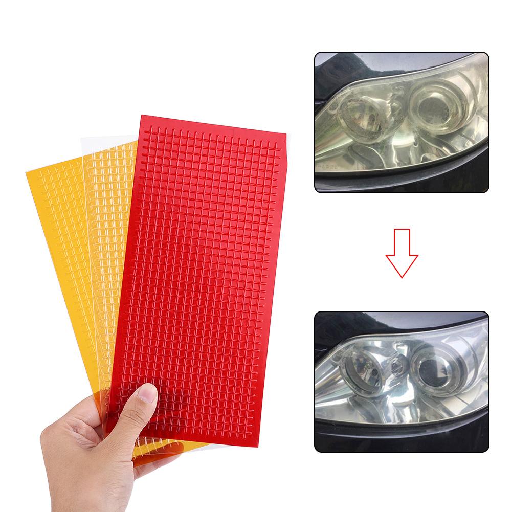 auto lens repair kit car nastro riparazione luce freno faro postiere ebay. Black Bedroom Furniture Sets. Home Design Ideas