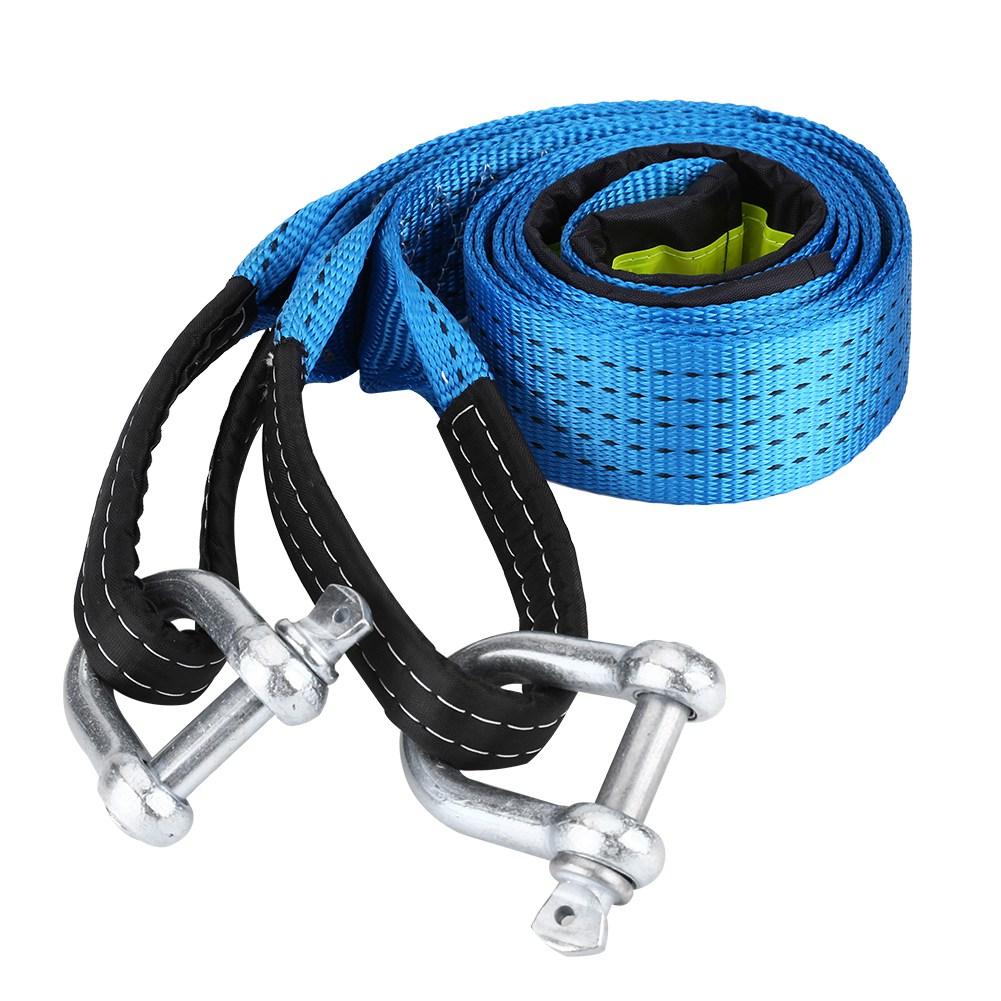 corde cable sangle de remorquage crochet u traction 3 5 m tres 8 tonnes 8000 kg ebay. Black Bedroom Furniture Sets. Home Design Ideas