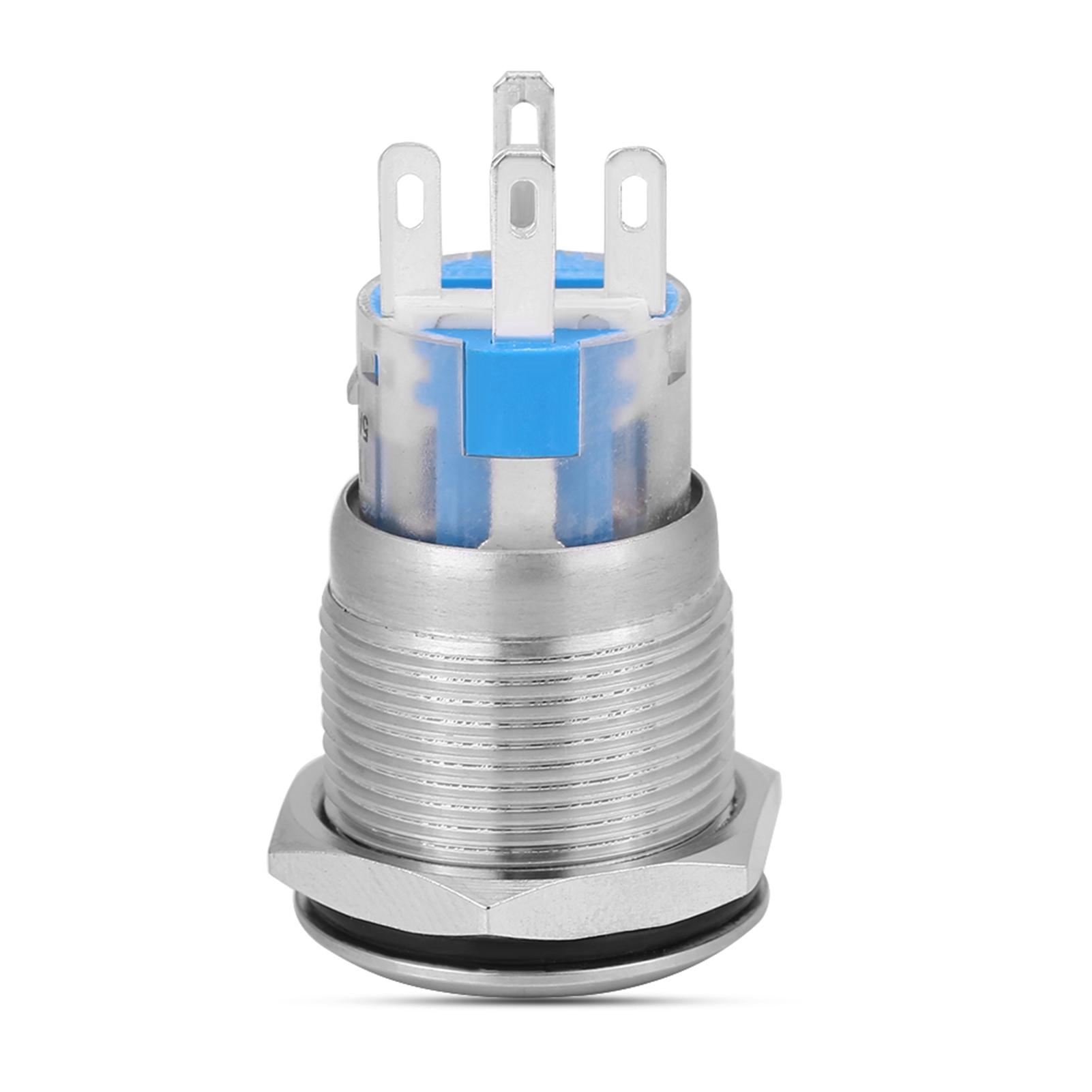 12V-Pulsante-Avviamento-Motore-Auto-LED-Accensione-Motore-impermeabile