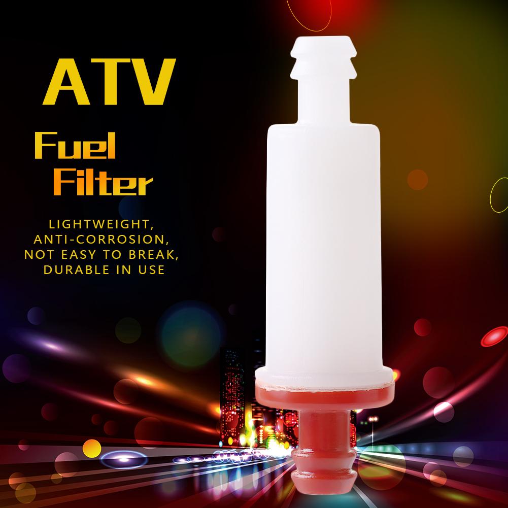 In Line Atv Fuel Filter For Polaris Ranger Rzr 1985 2014 2530009 Gas Location