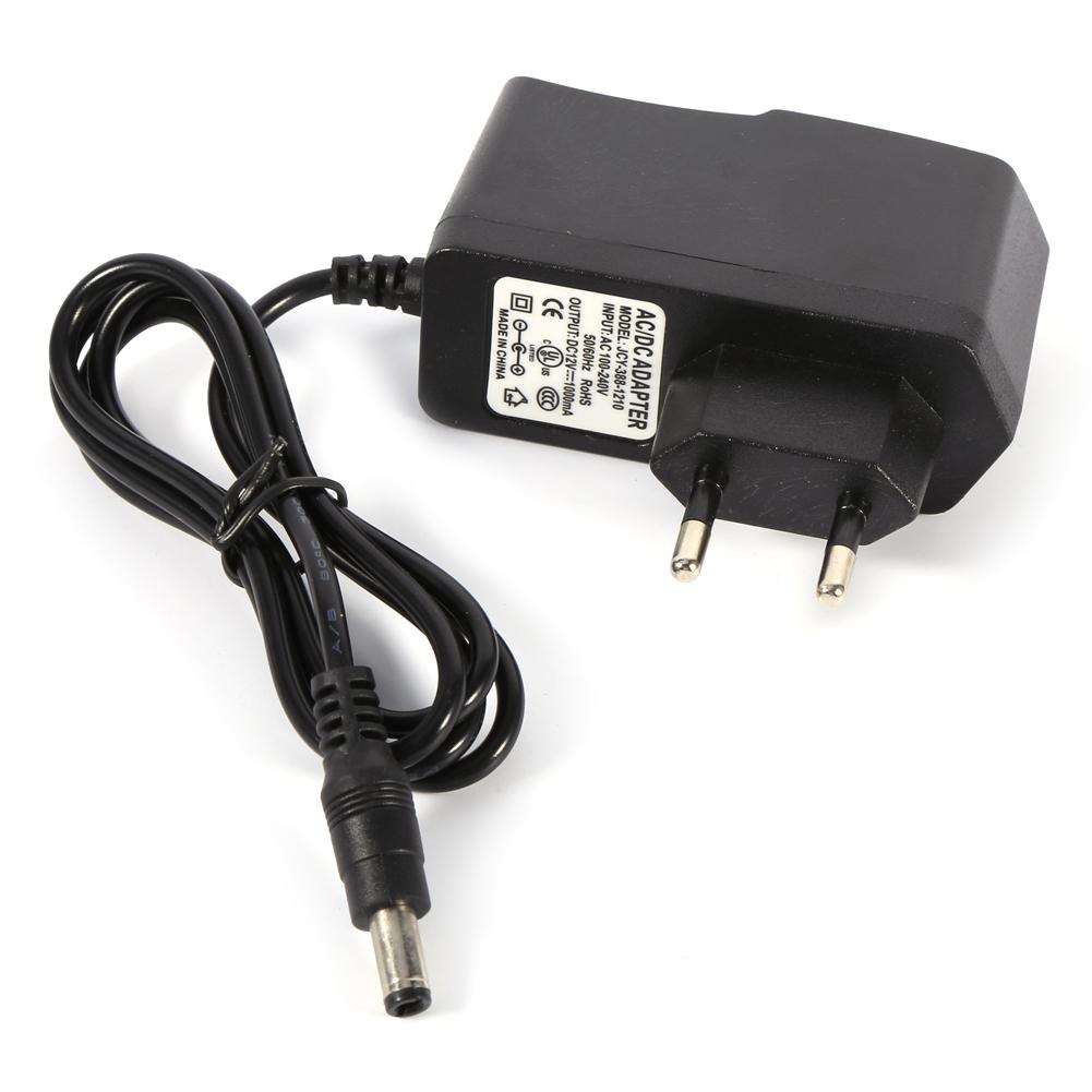 dc 12v 1a 3a netzteil adapter kabel converter transformator f r led rgb streifen ebay. Black Bedroom Furniture Sets. Home Design Ideas