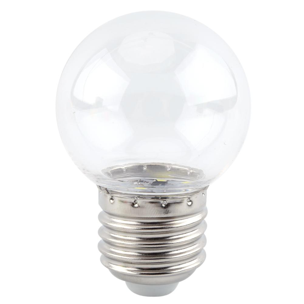 1W-E27-Multicolor-LED-Lampara-Bombilla-Redonda-Ahorro-de-Energia-Casa-Bar-Tienda