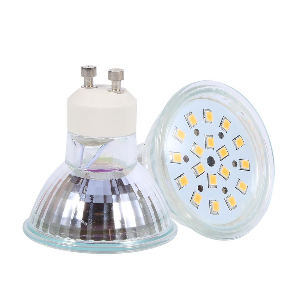 18 led gu10 birne lampe 3w gl hbirne spot strahler lampe warm kaltwei ebay. Black Bedroom Furniture Sets. Home Design Ideas