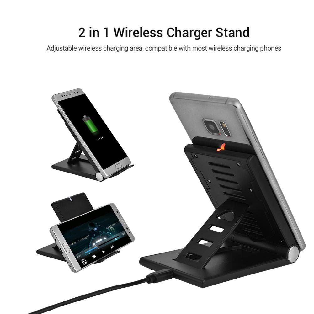Qi-Cargador-Inalambrico-Soporte-Universal-para-Samsung-Galaxy-S6-S6-Edge-USB
