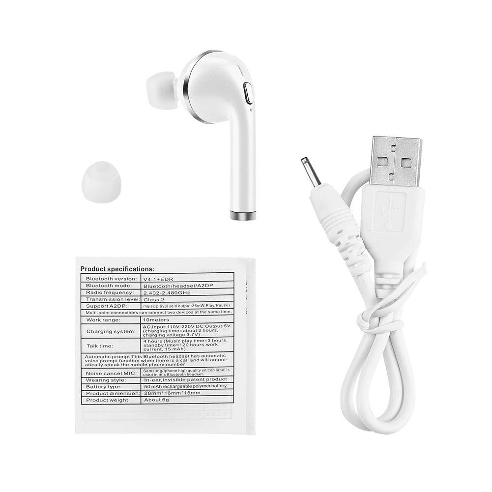 bluetooth couteur sans fil casques d 39 oreille audio st r o mic pour apple iphone ebay. Black Bedroom Furniture Sets. Home Design Ideas