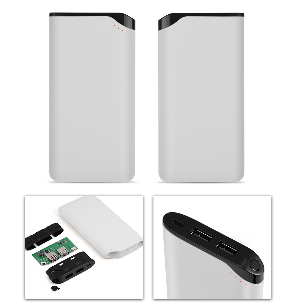 21a Dual Usb Power Bank Case 6000mah Battery Charger Diy Box Kit W Mobile 18650 Polymer Pcba Circuit Board 5v 1a 2
