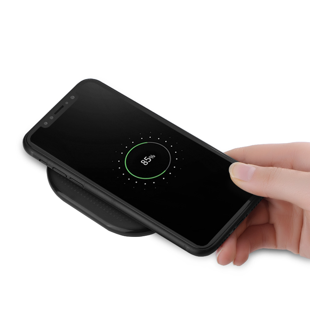 Qi Wireless Fast Charger Charging Pad Dock Mat For Iphone