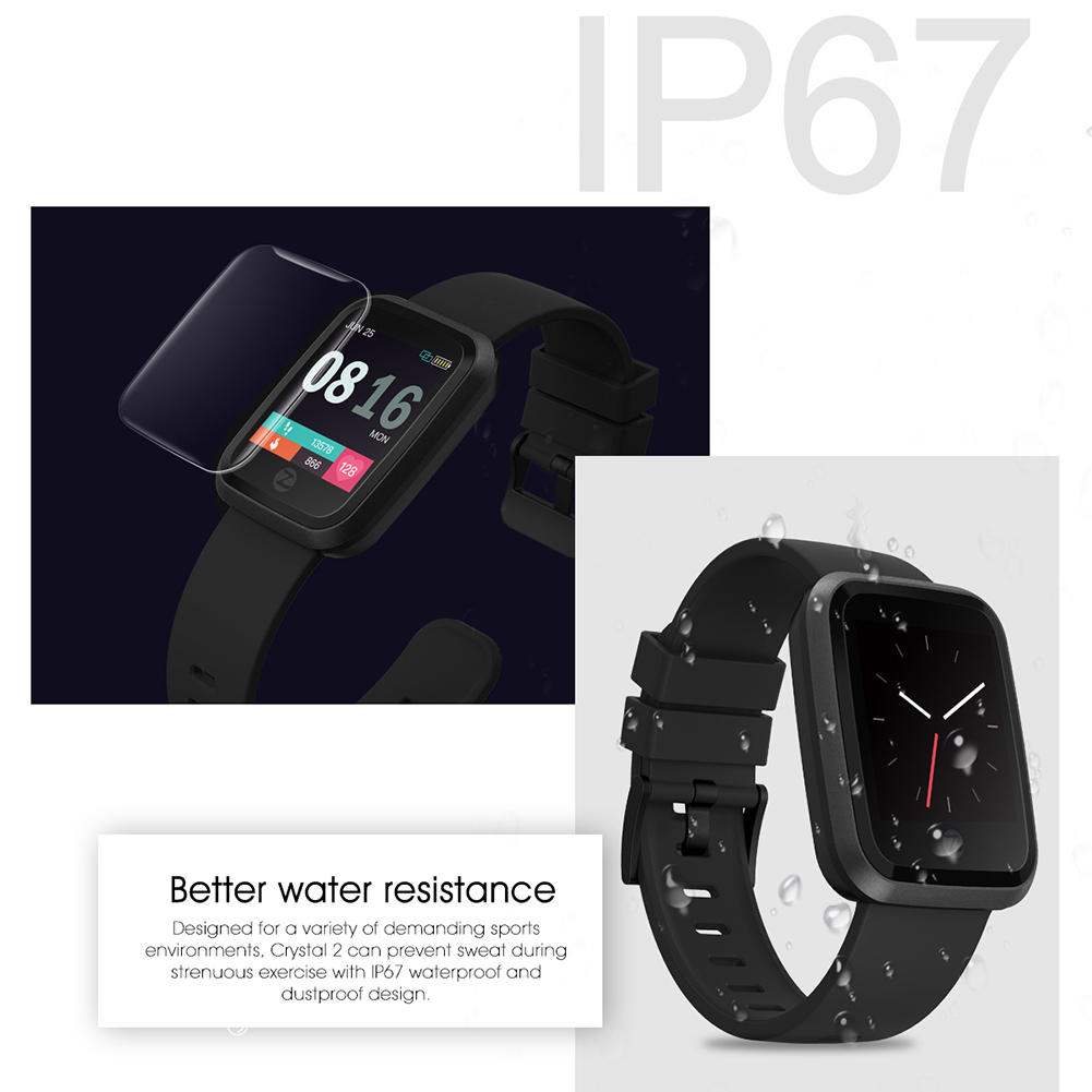 Watch-Bluetooth-Zeblaze-IP67-Waterproof-HD-Colorful-Display-Screen-for-Android thumbnail 17