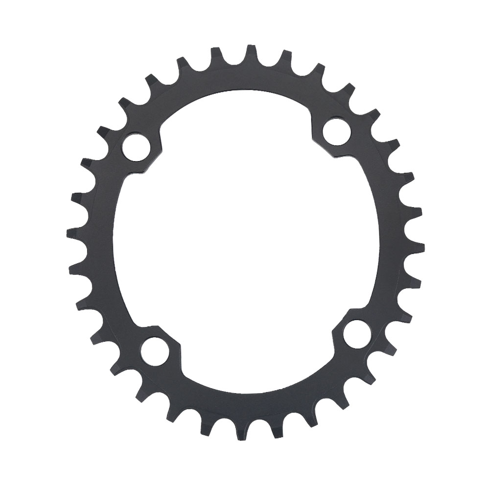MTB-Bike-Narrow-Wide-Round-Oval-Chainring-Ring-104-130mm-22-32-34-36-38-44-53T thumbnail 73