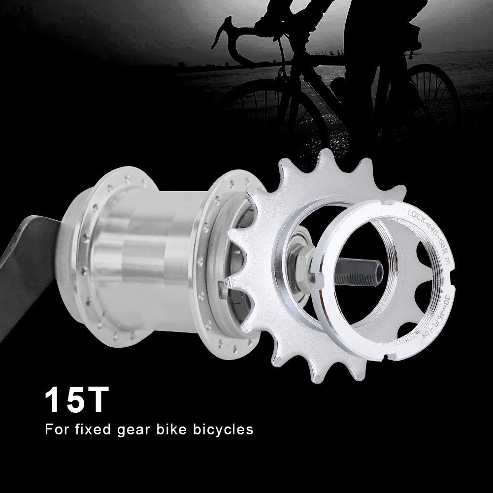 Universal-Fixed-Gear-Cog-13-14-15-16-Track-Bike-Single-Speed-Cogs-Lock-Ring-JA thumbnail 13