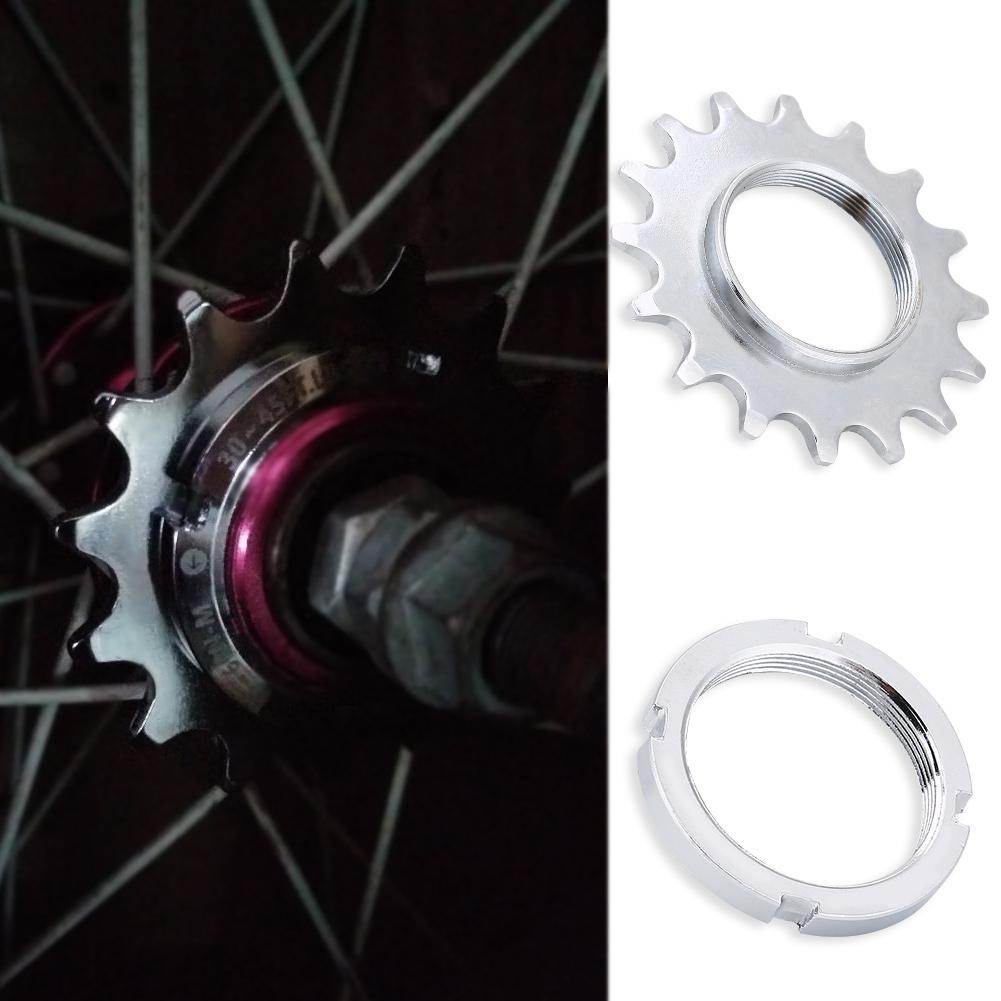 Universal-Fixed-Gear-Cog-13-14-15-16-Track-Bike-Single-Speed-Cogs-Lock-Ring-JA thumbnail 17