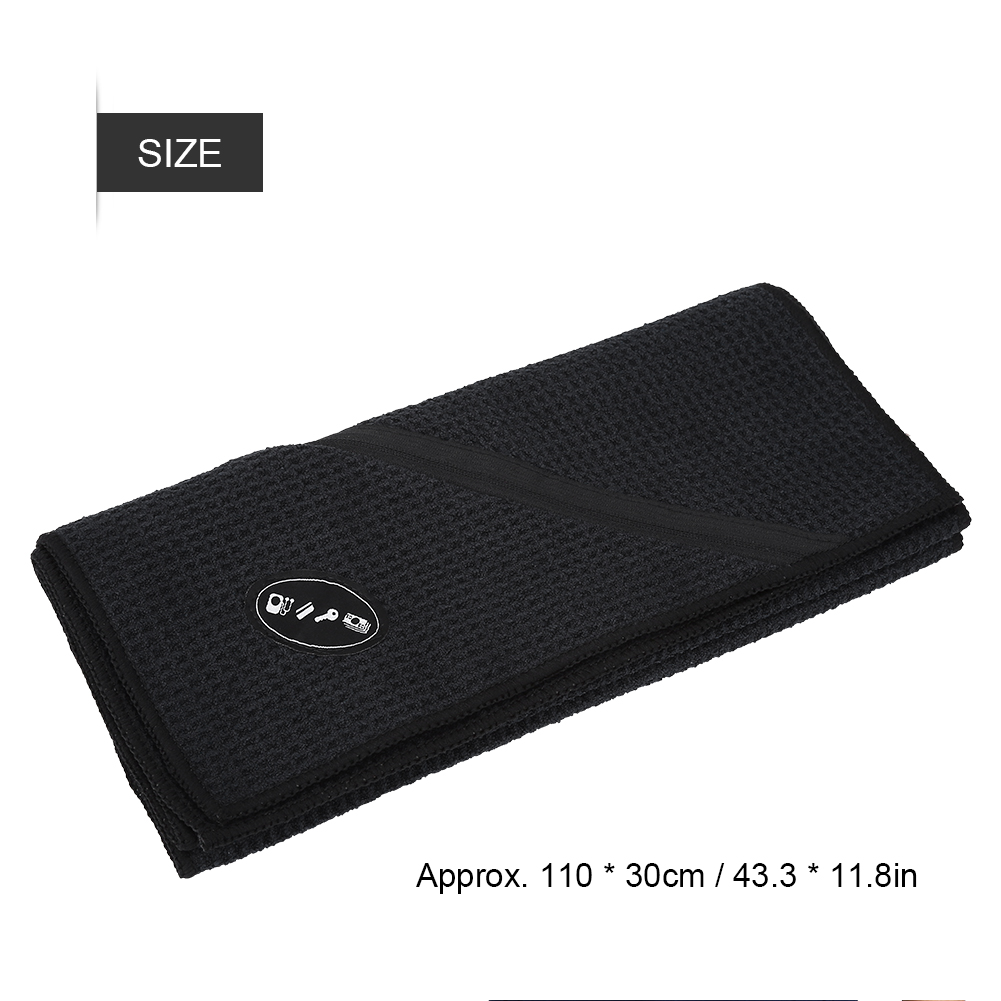 Microfiber-Soft-Towel-Water-Absorption-Fast-Drying-Golf-Towel-W-Zippered-Pocket thumbnail 28