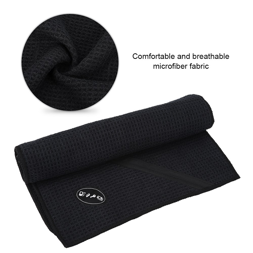 Microfiber-Soft-Towel-Water-Absorption-Fast-Drying-Golf-Towel-W-Zippered-Pocket thumbnail 30