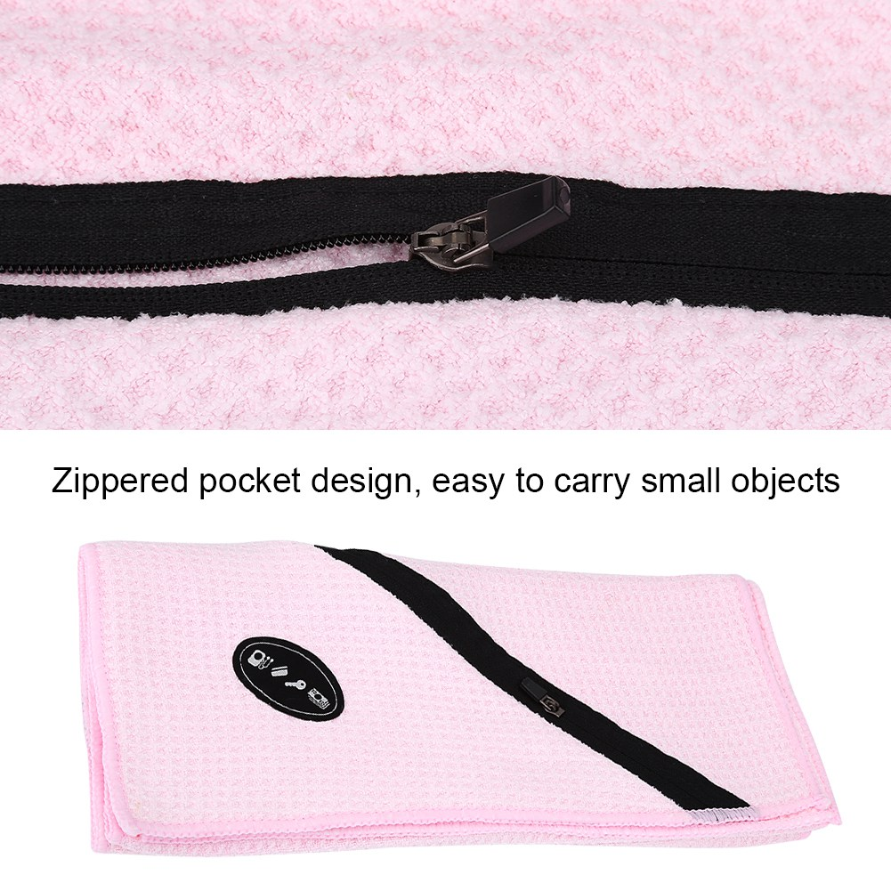 Microfiber-Soft-Towel-Water-Absorption-Fast-Drying-Golf-Towel-W-Zippered-Pocket thumbnail 62