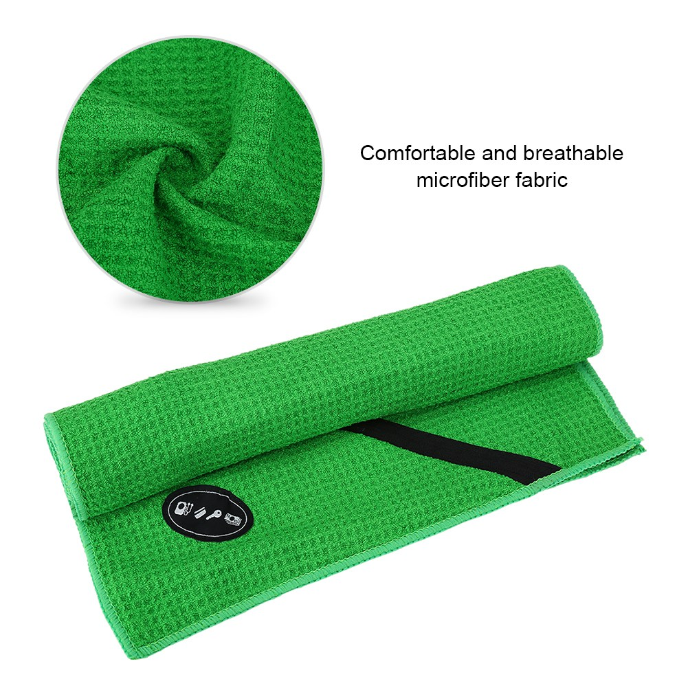 Microfiber-Soft-Towel-Water-Absorption-Fast-Drying-Golf-Towel-W-Zippered-Pocket thumbnail 74