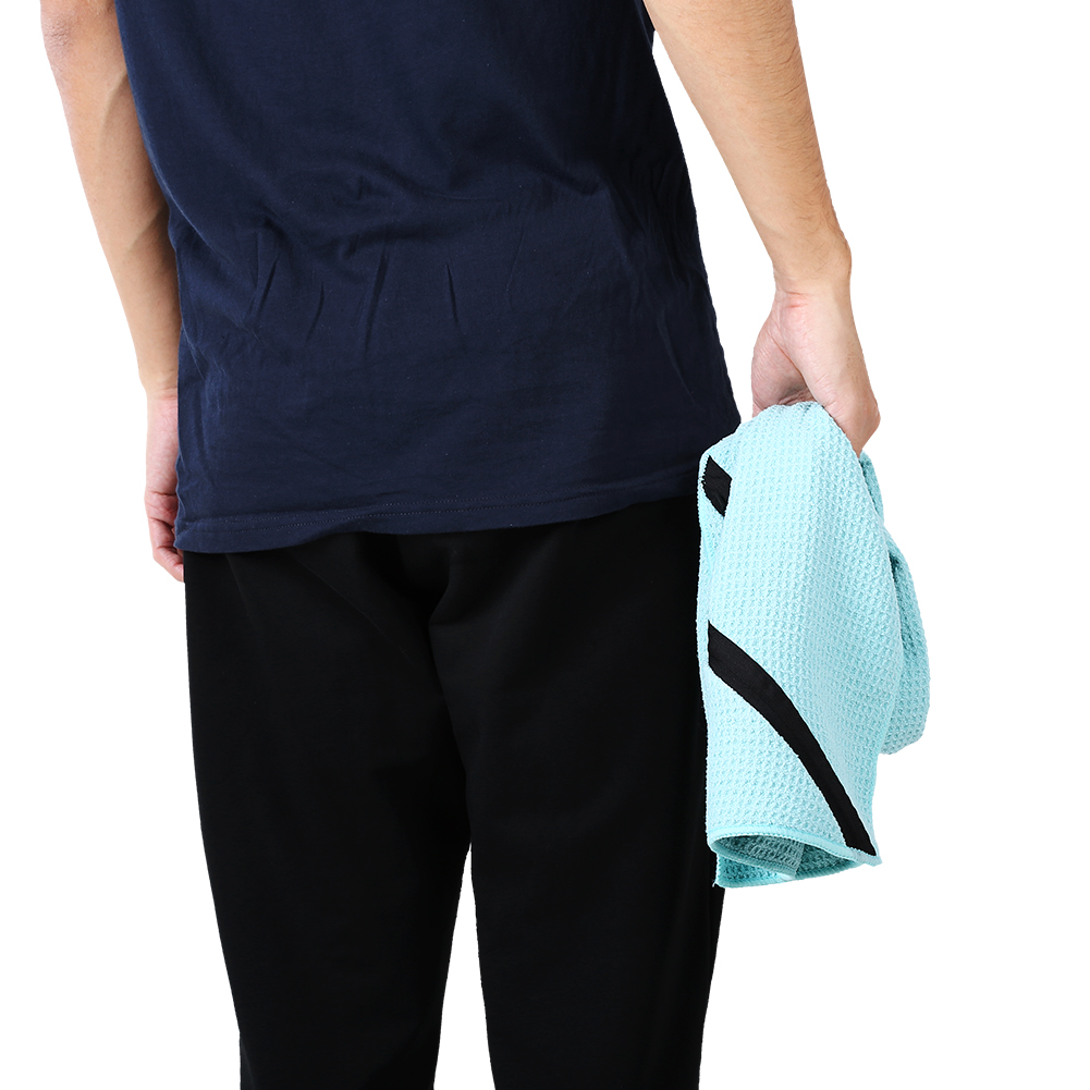 Microfiber-Soft-Towel-Water-Absorption-Fast-Drying-Golf-Towel-W-Zippered-Pocket thumbnail 89