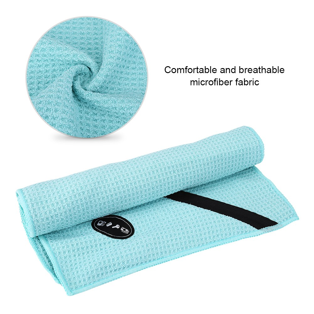 Microfiber-Soft-Towel-Water-Absorption-Fast-Drying-Golf-Towel-W-Zippered-Pocket thumbnail 85